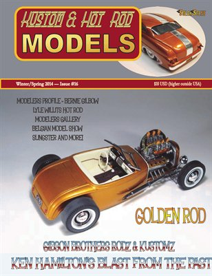 Kustom and Hot Rod Models #16