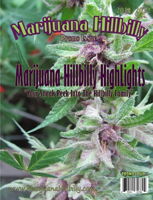 Promo Marijuana Hillbilly Issue #1