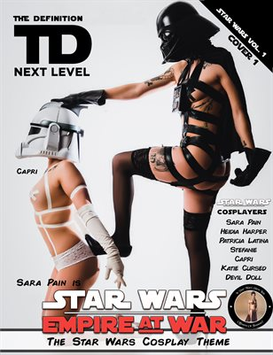 TDM Cosplay SaraPain-Capri Star Wars Vol.3  Cover1