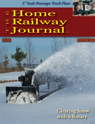 Home Railway Journal: WINTER 2011