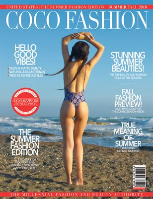 COCO Fashion Magazine -  September 2018 - The Summer Fashion Edition