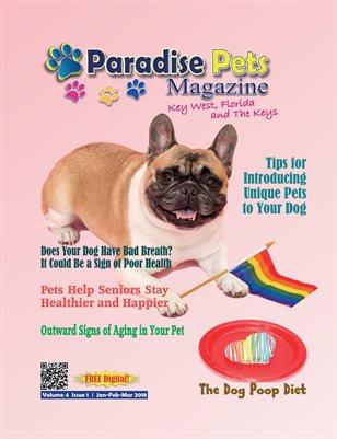 Paradise Pets Magazine, Key West, FL Jan-March 2018