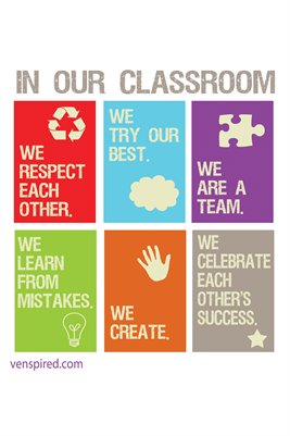 "Classroom Norms: ""In This Classroom..."""