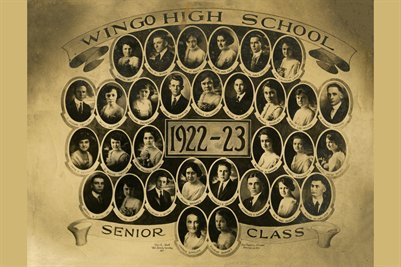 1922-23 Wingo High School Senior Class