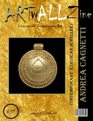 ARTwALL zine n.51: Andrea Cagnetti -  Jewellery