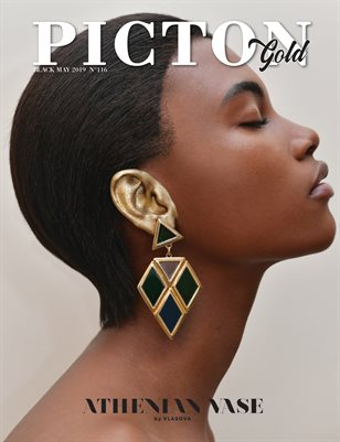 Picton Magazine May 2019 Black-GOLD N116 Cover 1