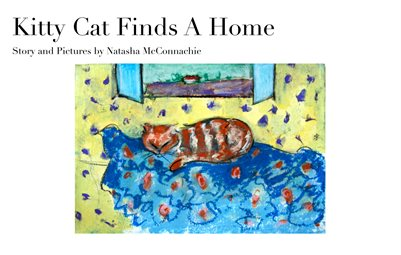 Kitty Cat Finds A Home