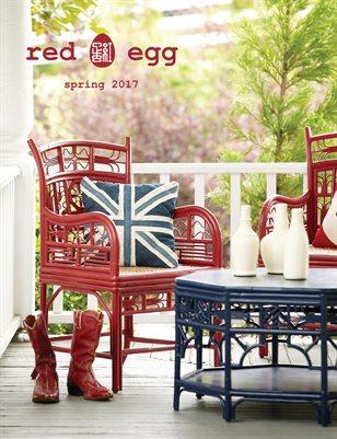 red egg Spring Catalog 2017
