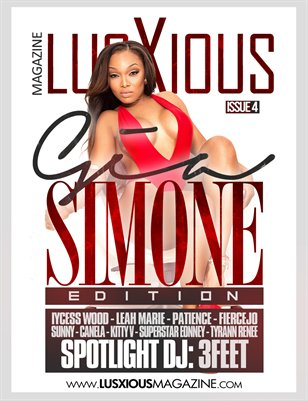Lusxious Magazine Issue 4 (Cover Model GIa Simone)
