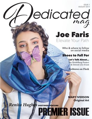 Dedicated Magazine Issue 1-Aug '17 Cover 1