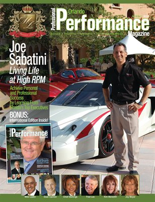Festivals of Speed founder Joe Sabatini