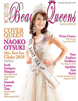 World Class Beauty Queens Magazine Issue 88 with Naoko Otsuki