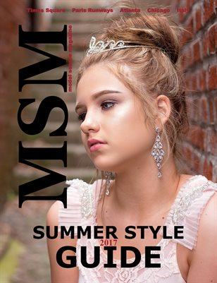 Model Source Magazine Summer Style Guide 2017