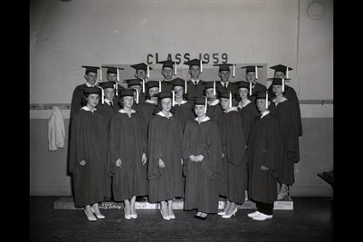 Class of 1959, Briensburg, Marshall County, Kentucky