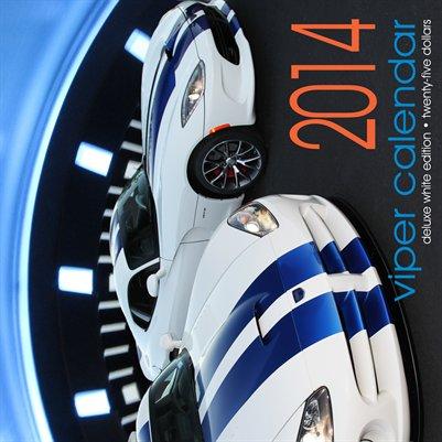 2014 Viper Calendar White Edition (DELUXE)
