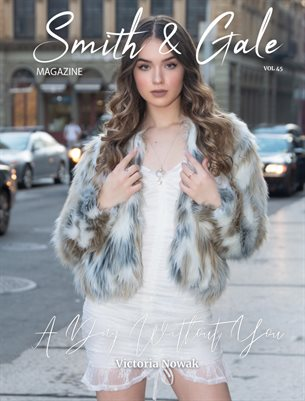 Smith and Gale Magazine Issue 45 Featuring Victoria Nowak