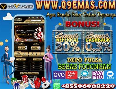 Q9EMAS.COM Situs Depo Pulsa Bebas Potongan
