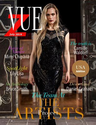 Vue Z Magazine US. addition July 2019