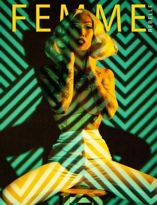 Femme Rebelle Magazine June 2019 BOOK 2 - Marilee Caruso Cover