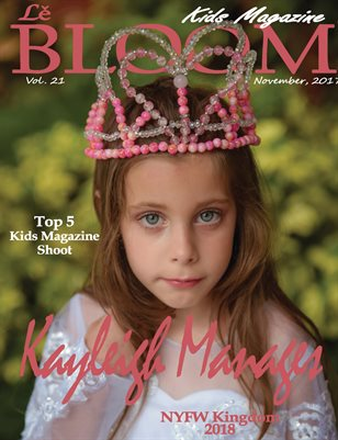 Le Bloom Kids Magazine Keyleigh Manages