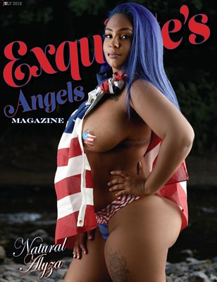 4th of July 2016 Edition - Cover #2 Natural Alyza