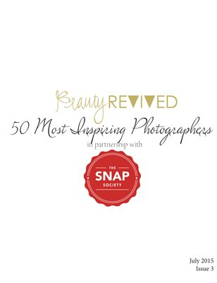 Beauty Revived 50 Most Inspiring Photographers