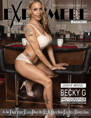 Exprimere Magazine Issue 022 ft Becky G