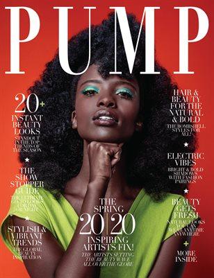 PUMP Magazine | Hair & Makeup Artist Edition | Vol.1 | April 2020