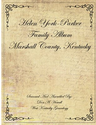 Helen York-Parker Photo Collection, Marshall County, Kentucky