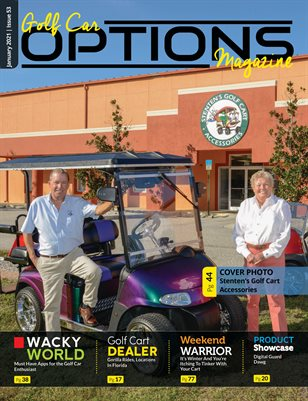 Golf Car Options Magazine - January 2021