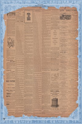 (Pages 3-4) July 27, 1898, Mayfield Monitor, Mayfield Kentucky