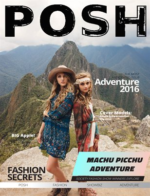 POSH Adventure Issue 2 2016