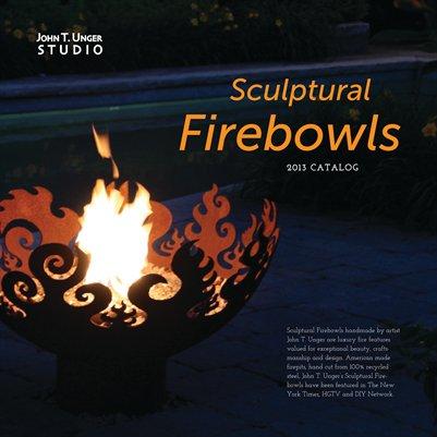 John T. Unger Sculptural Firebowl Catalog