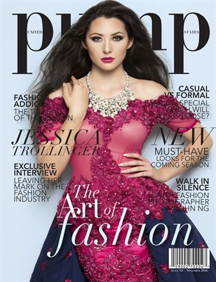 PUMP Magazine The Art of Fashion Edition VOL.1 Issue XC
