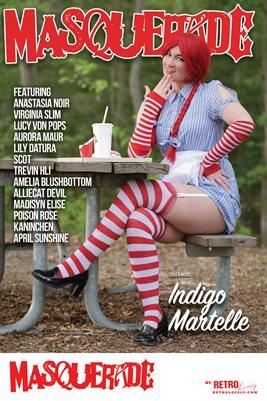 Masquerade No.3 – Indigo Martelle Cover Poster