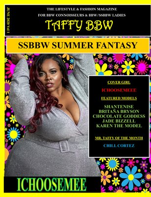 Taffy BBW Magazine - June 2020 Vol 1 SSBBW Summer Fantasy