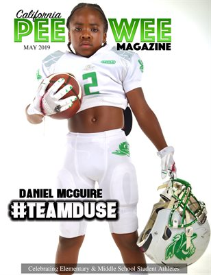 California Pee Wee Magazine May 2019