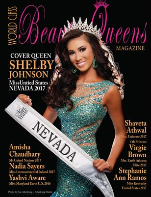 World Class Beauty Queens Magazine with Shelby Johnson