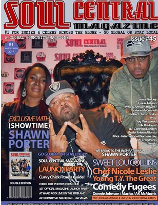 Soul Central Magazine March April Edition #45 #Artist