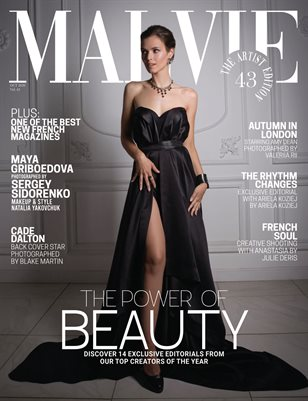 MALVIE Mag The Artist Edition Vol 43 October 2020