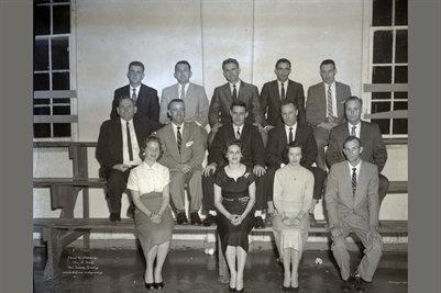 Brewers Basketball Banquet 1958
