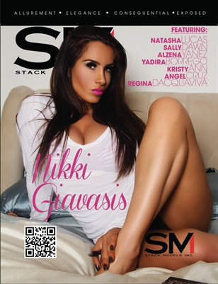Stack Models Magazine Issue 12 Nikki Giavasis Cover