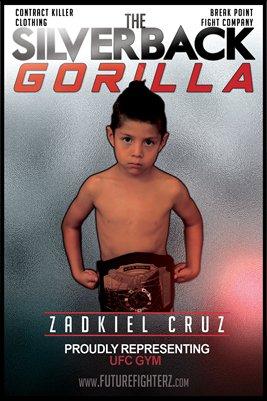 Zadkiel Cruz Silverback Poster