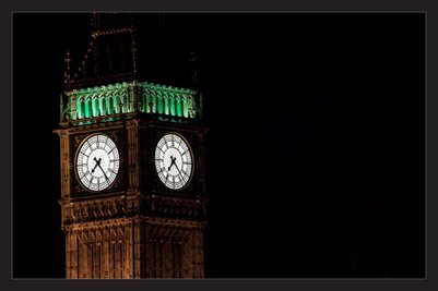 Big Ben at Night (Poster)