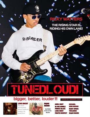 TunedLoud Magazine January 2020