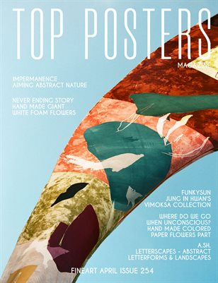 TOP POSTERS MAGAZINE - APRIL FINEART (Vol 254)