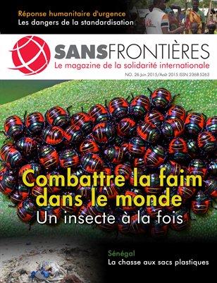 Magazine Sans Frontières (Num.26/Juin-Sept 2015)