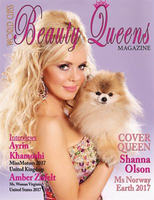 World Class Beauty Queens Magazine with Shanna Olson