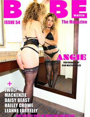 BABE WATCH ISSUE 54 FT. ANGIE