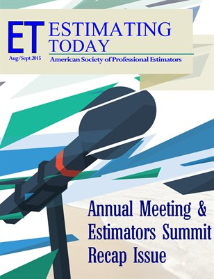 Estimating Today August September 2015